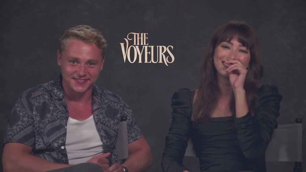 Video: Ben Hardy and Natasha Liu Bordizzo Talk Their Characters in 'The Voyeurs'